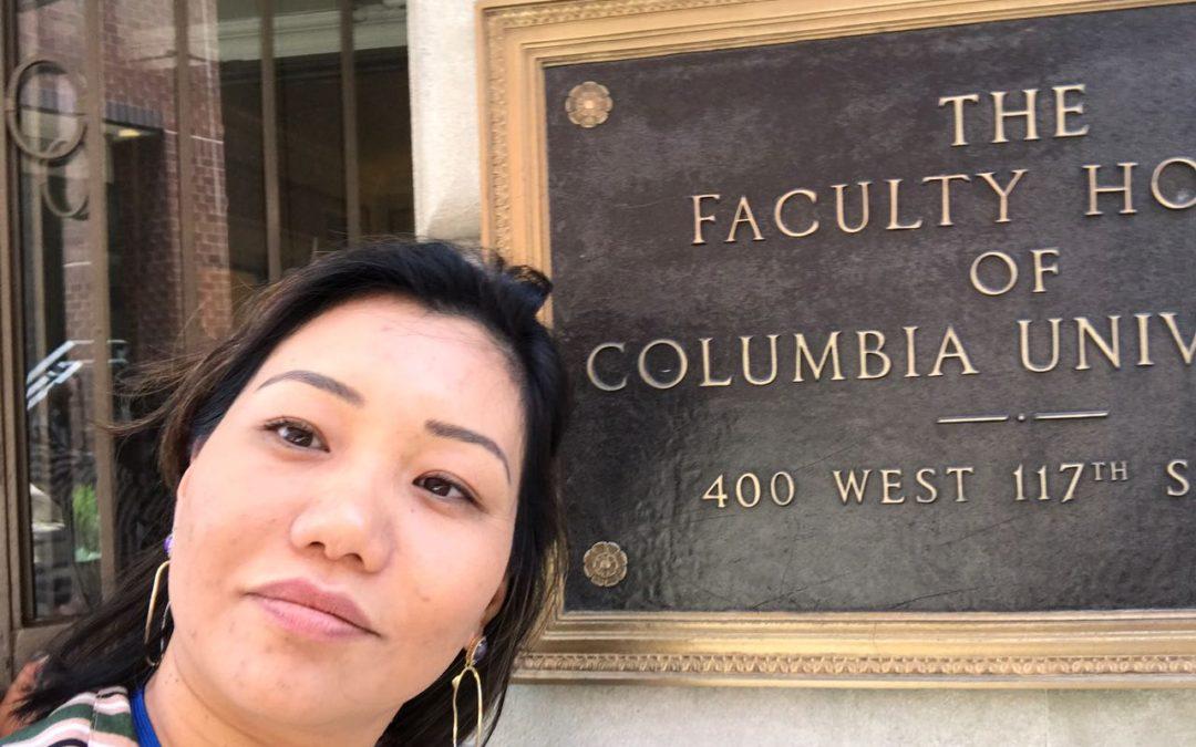 Participação em Congressos – Columbia e Paris